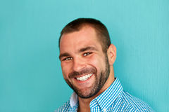 Portrait of a smiling man Royalty Free Stock Photography
