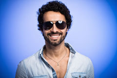 Portrait of a smiling man wearing sunglasses Stock Photography