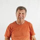 Portrait of smiling mature man Royalty Free Stock Image