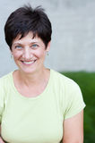 Portrait of a smiling mature woman Royalty Free Stock Photo