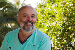 Portrait of a smiling middle-aged man Royalty Free Stock Images