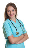 Portrait of a smiling nurse Stock Images