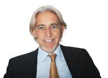 Portrait of smiling senior business executive Royalty Free Stock Image