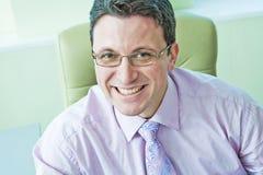 Portrait of smiling senior businessmen Royalty Free Stock Image