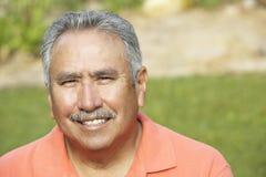 Portrait Of Smiling Senior Man Stock Image