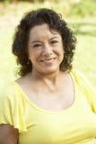 Portrait Of Smiling Senior Woman Stock Photography