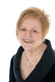 Portrait of smiling senior woman. Royalty Free Stock Images