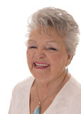 Portrait of smiling senior woman. Royalty Free Stock Photography