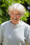 Portrait of a smiling senior woman Royalty Free Stock Photo