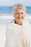 Portrait of smiling senior woman Royalty Free Stock Images
