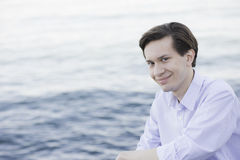 Portrait of Smiling Teenage Boy Stock Photos
