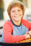 Portrait Of Smiling Teenage Boy Stock Photography