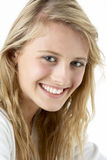 Portrait Of Smiling Teenage Girl Stock Photography