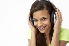 Portrait of Smiling Teenage Girl Royalty Free Stock Photos