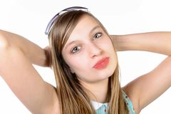 Portrait of a smiling teenager Royalty Free Stock Photo