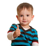 Portrait of a smiling toddler stock photography