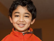 Portrait of a Smiling Toddler Stock Images