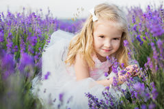Portrait smiling toddler girl Stock Photography
