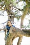 Portrait of Smiling Tween Girl Stock Photos