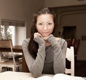 Portrait of smiling woman Stock Photography