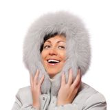 Portrait of smiling woman Royalty Free Stock Image