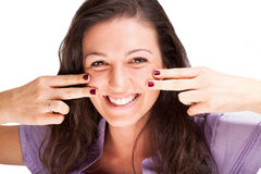 Portrait of a smiling woman Stock Photo