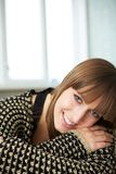 Portrait of a Smiling Woman Royalty Free Stock Photos