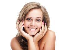 Portrait of smiling women Stock Image