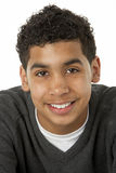 Portrait Of Smiling Young Boy. Looking at camera Stock Image