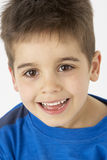 Portrait Of Smiling Young boy Royalty Free Stock Image