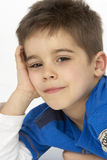 Portrait Of Smiling Young boy. Close up Portrait Of Smiling Young boy Stock Images