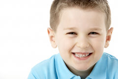 Portrait Of Smiling Young Boy Royalty Free Stock Photography
