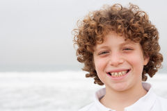 Portrait of a smiling young boy Royalty Free Stock Photography