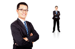 Portrait of a smiling young businessman Royalty Free Stock Photos