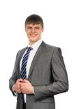 Portrait of a smiling young businessman Royalty Free Stock Photography
