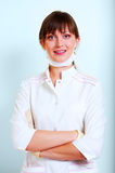 Portrait of a smiling young doctor Royalty Free Stock Photo