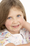 Portrait Of Smiling Young Girl Royalty Free Stock Photos