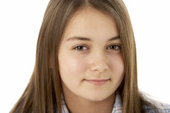 Portrait Of Smiling Young Girl Royalty Free Stock Photo