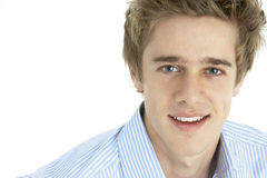 Portrait Of Smiling Young Man royalty free stock photo