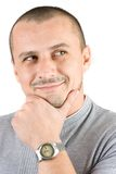 Portrait of a smiling young man Stock Photography
