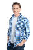Portrait Of Smiling Young Man Stock Image