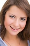 Portrait of smiling young woman Royalty Free Stock Photo