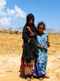 Portrait of Soqotri Al-Mahrah tribe women, Socotra island, Yemen. Portrait of Soqotri Al-Mahrah tribe women - 10-11-2009 Socotra island, Yemen Royalty Free Stock Photos