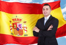 Portrait Of Spanish Businessman Stock Images