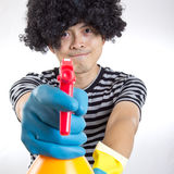 Portrait spay man Stock Photography