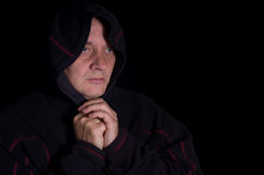 Portrait of a spiritual man in studio Royalty Free Stock Photo