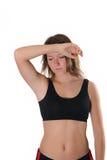 Portrait sport woman Stock Images
