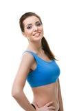 Portrait of a sportive woman Stock Photo