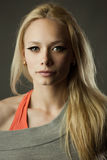 Portrait of sporty girl Stock Image