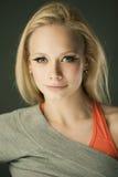 Portrait of sporty girl Stock Photo